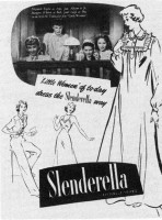 The Galitzianer - ad for Slenderella