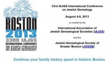 IAJGS 2013