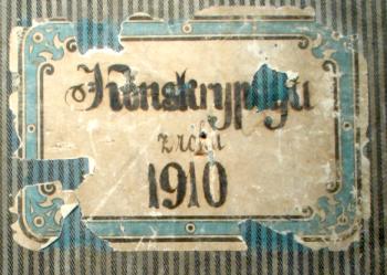 Tarnopol 1910 Census Cover