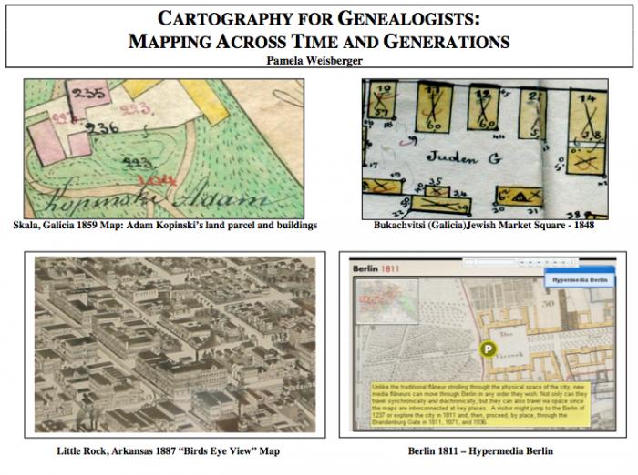 Cartograph for Genealogists Illustration