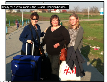PW Walk Across Border