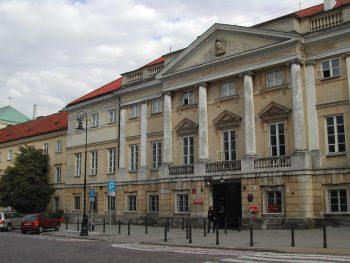 AGAD building in Długa Street, Warsaw