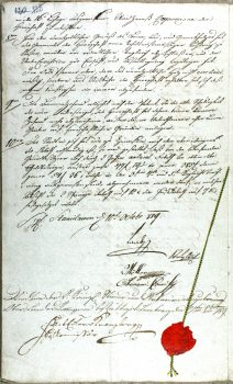 page 1 image 4 of 4 Stanislawow J_239 with seal