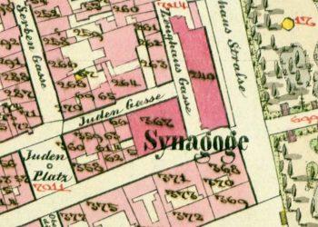 1853 cadastral map of Lemberg
